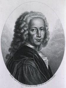 portrait of Bernhard Siegfried Albinus in a wig