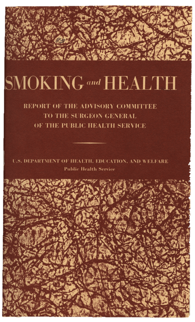 The cover of the report by the Public Health Service