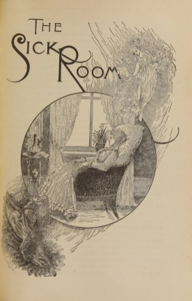 A woman reclines in a chair by a window, propped on a pillow holding a book.