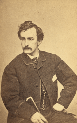 John Wilkes Booth. Courtesy Library of Congress