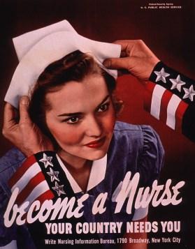 Nurse recruitment poster
