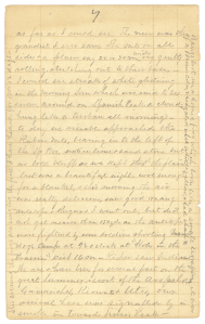 A page from a diary hadwritten in pencil dated June 29.