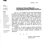 A typewritten memo on Commission letterhead dated November 2, 1992
