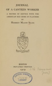 A title page with a seal and the stamp of the Surgeon General's Library