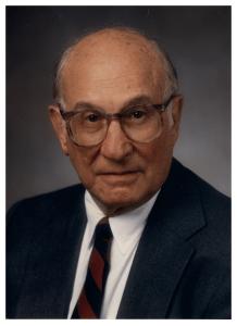 Formal portrait of Louis Sokoloff