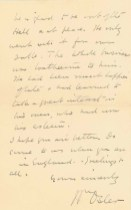 A handwritten letter on stationary from 13, Norham Gardens, Oxford.