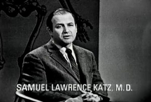 Samuel Lawrence, Katz, M.D. speaks on a panel.