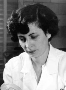 An informal portrait of Nina Braunwald.