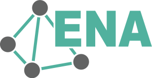 Logo featuring ENA and a 4 node network.