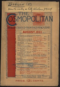 The cover of The Cosmopolitan for August 1893