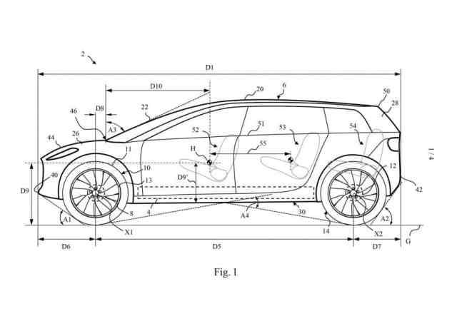 plan côté voiture électrique dyson