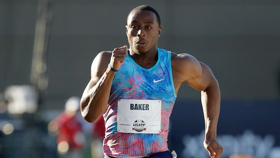 (VIDEOS) BAKER DUEÑO DE LOS 100mts DE LA DIAMOND LEAGUE EUGENE