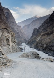 Driving towards the Pamir Highway!
