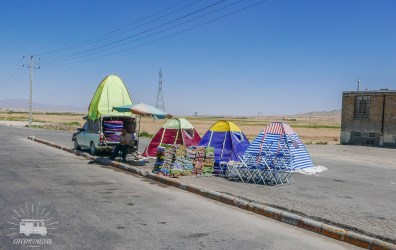 Did we mention that Iran loves picnics? Everywhere you can buy the gear you need.