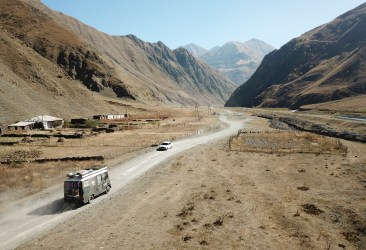Through remote villages