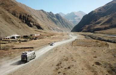 Through remote villages