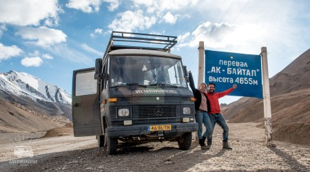 Being proud on Abi, making it to the 4655m pass (Tajikistan)
