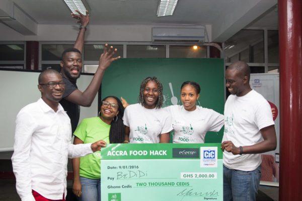 Accra food hack winners