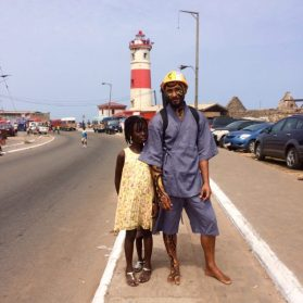 Wanlov and his friend