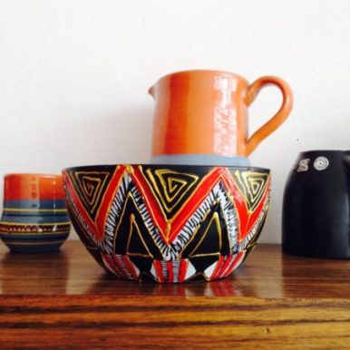 Sena Ahadji customized houseware craft designs made in Ghana gift ideas