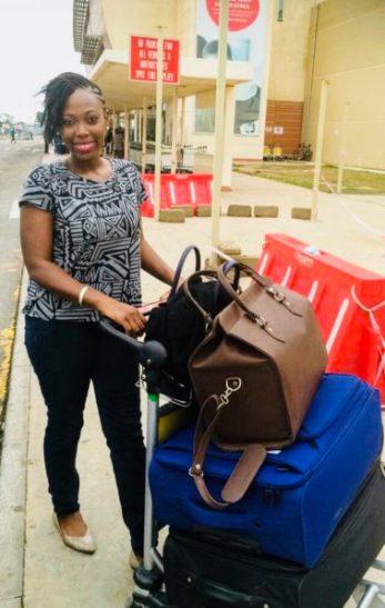 Jemila Abdulai Traveling Alone