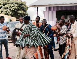 Ghana music and Damba dancers, Year of Return Ghana 2019