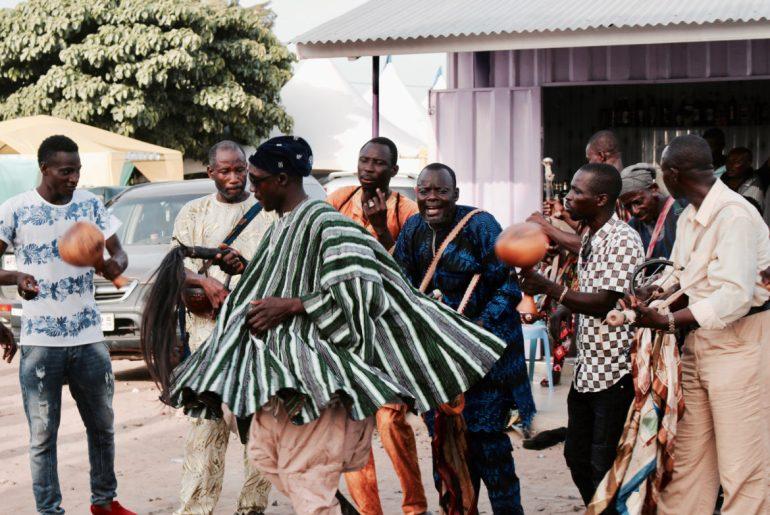 Ghana music and Damba dancers, Year of Return Ghana 2019