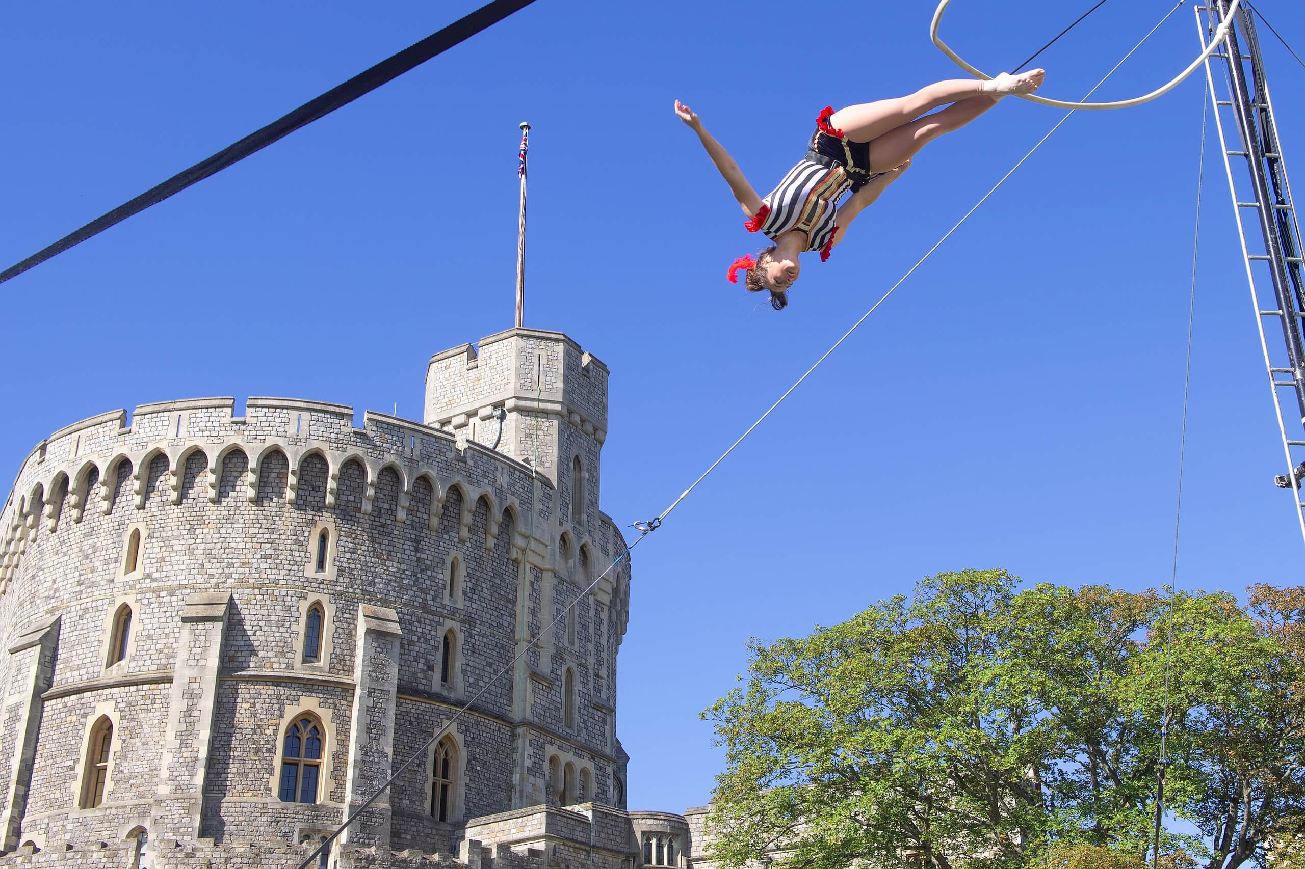 Victoria200 Circus for Royal Collection Trust at Windsor Castle
