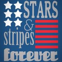 stars & stripes {printable}