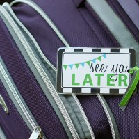 luggage tags {printable}