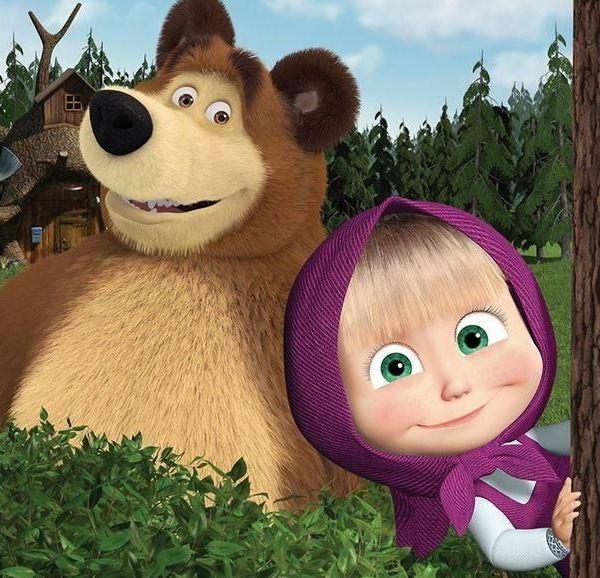 Decoracion Masha y el oso