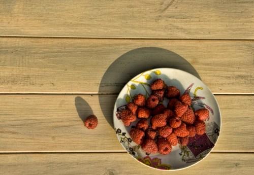 bowl of raspberries 2