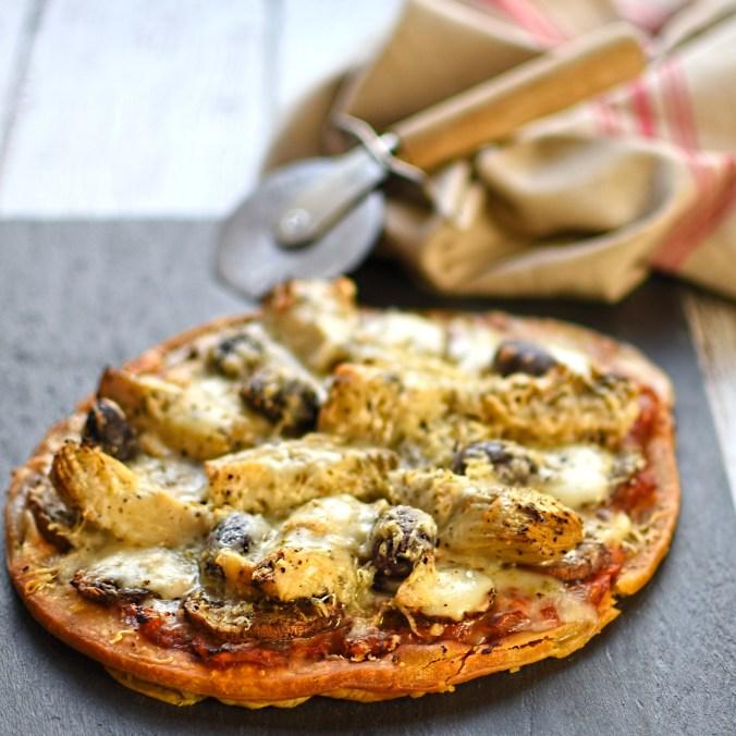 artichoke and taleggio pizza fritta