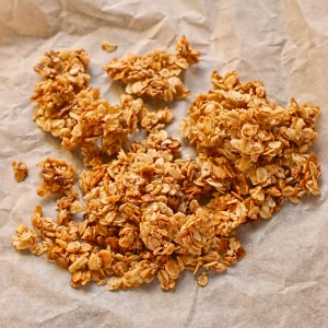 caramelised oats