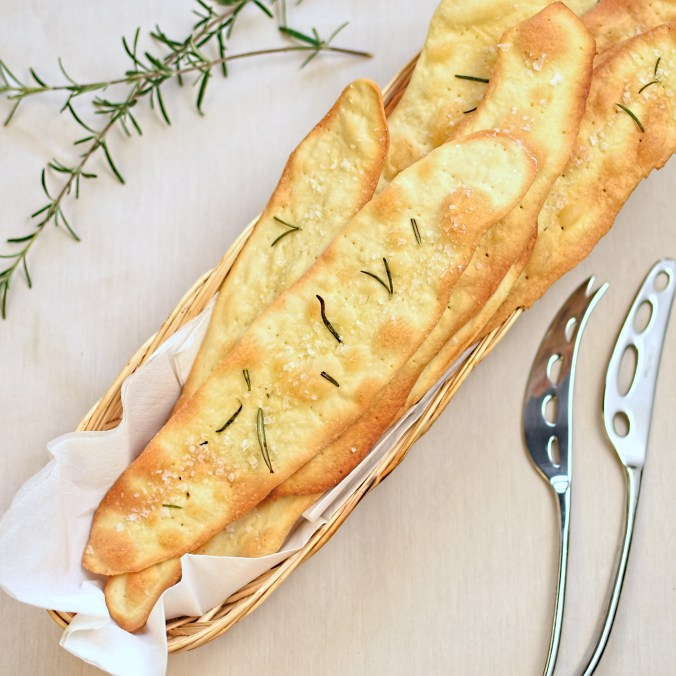 rosemary flatbread biscuits