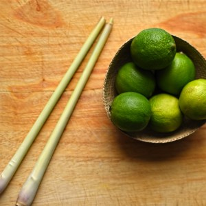 limes and lemongrass