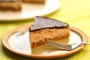 vegan chocolate and chestnut cheesecake