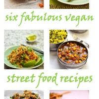 six fabulous vegan street food recipes