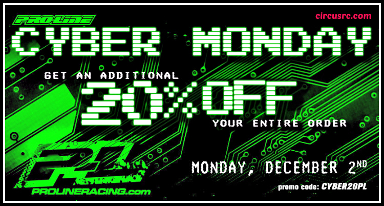 Cyber Monday Pro-Line