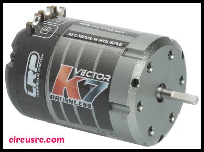 Nouveau moteur brushless LRP Vector K7