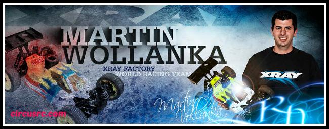 Martin Wollanka signe avec XRAY