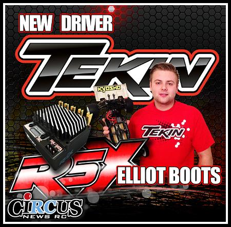 Elliott Boots signe avec Tekin