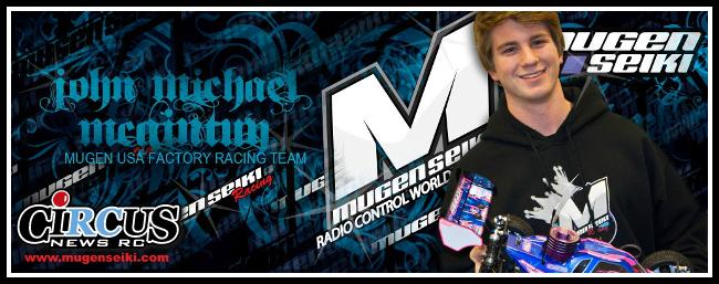 John Michael McGinty signe avec Mugen Seiki pour la saison 2014