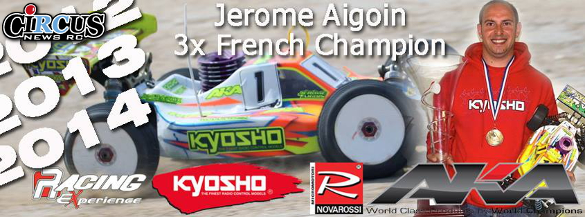 Jérôme Aigoin et Christophe Dupuis champions de France Elite 2014