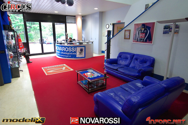 Visite de l'usine Novarossi