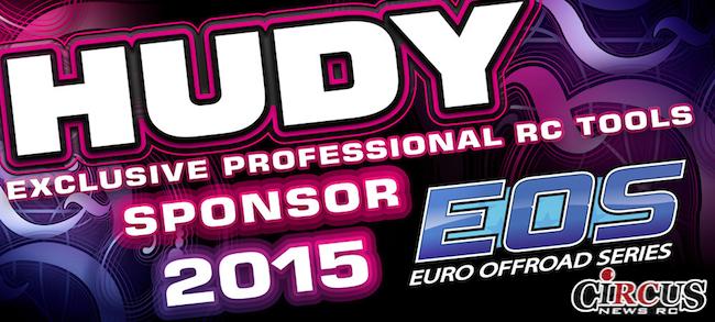 Hudy partenaire de l'EOS 2015