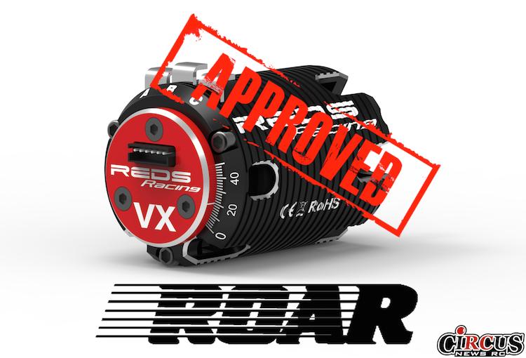 Moteurs électriques REDS approuvés par la ROAR