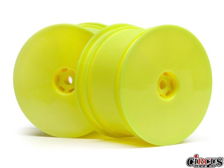 Jantes jaune fluo pour HB D413 chez Hot Bodies