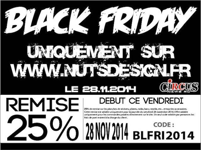 Black Friday chez Nuts Design!