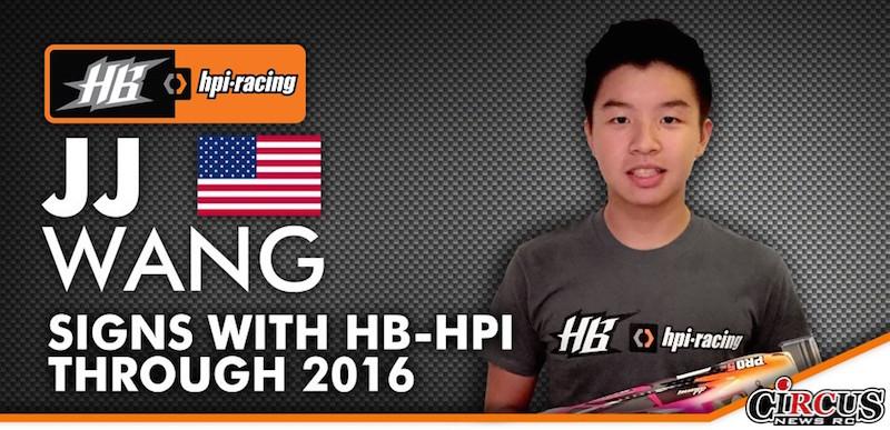 JJ Wang prolonge son contrat d'un an avec HB-HPI Racing